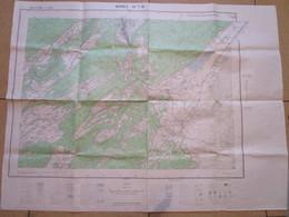 Carte De France Au 1/25.000ème - MOREZ - Cartes Topographiques