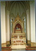 °°° Cartolina N. 9 Castelpetroso Santuario Dell'addolorata Interno Il Trono Della Madonna Nuova °°° - Isernia