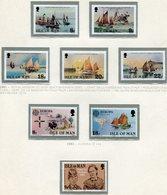 Isola Di Man - 1981 Annata Completa / Complete Year Set** MNH - Isola Di Man