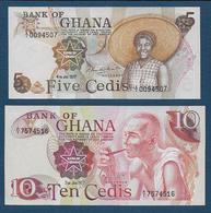 GHANA - 2 Billets - Ghana