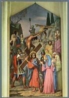 °°° Cartolina N. 12 Castelpetroso Santuario Dell'addolorata Viaggio Al Calvario Nuova °°° - Isernia