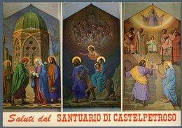 °°° Cartolina N. 13 Saluti Da Castelpetroso Nuova °°° - Isernia