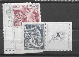 1949 MNH Tschechoslowakei - Czechoslovakia