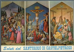 °°° Cartolina N. 14 Saluti Da Castelpetroso Nuova °°° - Isernia