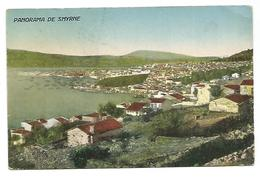 OLD POSTCARD OF SMYRNE - PANORAMA , 1926 . - Turquie