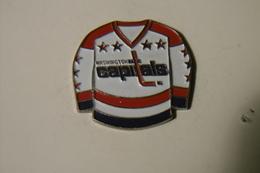 Pin's - Sports Maillot - HOCKEY CAPITALS Of WASHINGTON - Pin