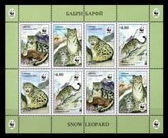Tajikistan 2019 Mih. 833/36 Fauna. WWF. Snow Leopard (M/S) MNH ** - Tajikistan