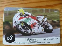 Dummy Phonecard Isle Of Mann - Motorbike - Man (Eiland)