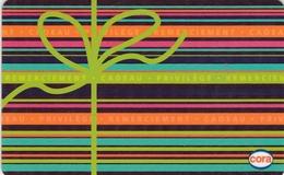 ## Carte  Cadeau  CORA  ##    Gift Card, Giftcart, Carta Regalo, Cadeaukaart - Cartes Cadeaux