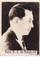 C. DE HAVEN. CARD TARJETA COLECCIONABLE TABACO. CIRCA 1940s SIZE 4.5x5.5cm - BLEUP - Berühmtheiten