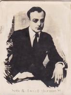 C. DE HAVEN. CARD TARJETA COLECCIONABLE TABACO. CIRCA 1940s SIZE 4.5x5.5cm - BLEUP - Personalità