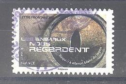 France Autoadhésif Oblitéré N°1152 (Les Animaux Nous Regardent) (cachet Rond) - Usati