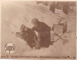 D. DOROTHY DALTON Y MALHON HAMILTON. SUPER. CARD TARJETA COLECCIONABLE TABACO. CIRCA 1940s SIZE 4.5x5.5cm - BLEUP - Personalità