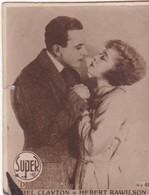 CLAYTON Y HEBERT RAWILSON. SUPER. CARD TARJETA COLECCIONABLE TABACO. CIRCA 1940s SIZE 4.5x5.5cm - BLEUP - Personalità