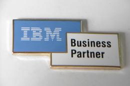 Pin's - Informatique IBM Business Partner - Computers