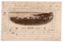 1903 AUSTRIA, ITALY, CROATIA, BRIONI ISLAND TO VIENNA, BRIONI GRANDE - Austria