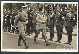 Der Fûhrer Und Der Duce - Die Garanten Des Friedens - Personnages