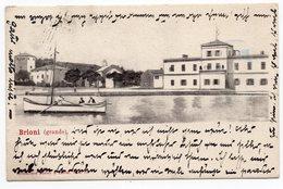 1903 AUSTRIA, ITALY, CROATIA, BRIONI ISLAND TO VIENNA, BRIONI /GRANDE/, SAILING BOAT - Austria