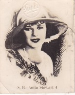 ANITA STEWART. SUPER. CARD TARJETA COLECCIONABLE TABACO. CIRCA 1940s SIZE 4.5x5.5cm - BLEUP - Personalità