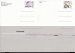SCHWEIZ  P 274 + P 275, Im DinA 4 Bogen, Ungebraucht, NABA JUNAPHILEX 2000 - Entiers Postaux