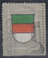 Vignette: Helgoland (Wappen) Des Deutschen Blindensozialwerkes, Um 1980 - Erinofilia