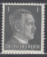 DR 781, Haarsträhne Gebrochen, Postfrisch  **, AH 1941 - Abarten