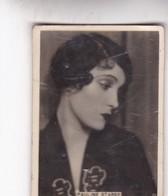 PAULINE STARKE. CIGARRILLOS CRACK. CARD TARJETA COLECCIONABLE TABACO. CIRCA 1940s SIZE 5x6cm - BLEUP - Personalità