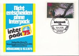 BRD 815 Auf Sonderkarte Mit Sonderstempel: Düsseldorf INTERPACK 13.6.1975 - BRD