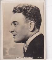 WILLIAM DUNCAN. CIGARRILLOS CRACK. CARD TARJETA COLECCIONABLE TABACO. CIRCA 1940s SIZE 5x6cm - BLEUP - Personalità