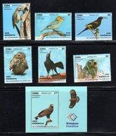 Cuba 2018 C18-26 Birds. Fauna MNH - Nuovi