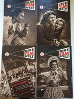 NEUE FILM-WELT 1951 4 Hefte - Film & TV