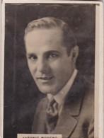 ANTONIO MORENO. CIGARRILLOS CRACK. CARD TARJETA COLECCIONABLE TABACO. CIRCA 1940s SIZE 5x6cm - BLEUP - Personalità