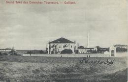 TURQUIE GALLIPOLI 1920 Grand Téké Des Derviches Tourneurs TBE - Turquie