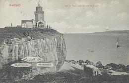 TURQUIE GALLIPOLI 1920 Vue Du Phare Prise Du Côté De La Mer TBE - Turquie