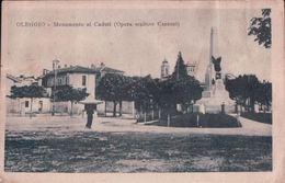 OLEGGIO Monumento Ai Caduti (Opera Scultore Cantoni) - Andere Städte