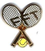 T8 - FFT - FEDERATION FRANCAISE DE TENNIS - Verso : BERAUDY/VAURE - Tennis
