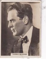THOMAS MEIGHAN. CIGARRILLOS CRACK. CARD TARJETA COLECCIONABLE TABACO. CIRCA 1940s SIZE 5x6cm - BLEUP - Personalità