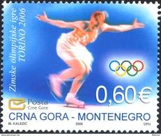 2006, Winter Olympic Games, Turin, Italy, Montenegro, MNH - Montenegro