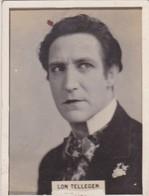 LON TELLEGEN. CIGARRILLOS CRACK. CARD TARJETA COLECCIONABLE TABACO. CIRCA 1940s SIZE 5x6cm - BLEUP - Personalità