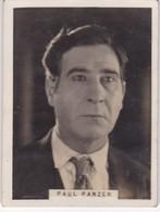 PAUL PANZER. CIGARRILLOS CRACK. CARD TARJETA COLECCIONABLE TABACO. CIRCA 1940s SIZE 5x6cm - BLEUP - Personalità
