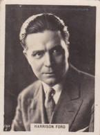 HARRISON FORD. CIGARRILLOS CRACK. CARD TARJETA COLECCIONABLE TABACO. CIRCA 1940s SIZE 5x6cm - BLEUP - Personalità