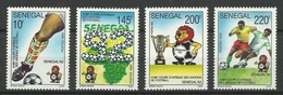 SENEGAL 1992 AFRICAN NATIONS CUP FOOTBALL SET MNH - Zonder Classificatie