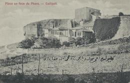 TURQUIE GALLIPOLI 1920 Place En Face Du Phare . TBE - Turquie