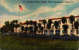 Florida Venice Kentucky Military Institute Winter Headquarters 1956 Curteich - Venice