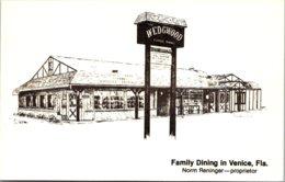 Florida Venice The Wedgwood Restaurant - Venice