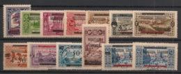 Grand Liban - 1928 - N°Yv. 98 à 110 - Série Complète - Neuf * / MH VF - Gran Libano (1924-1945)