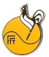 T9 - FFT - FEDERATION FRANCAISE DE TENNIS - Verso : BALLARD - Tennis
