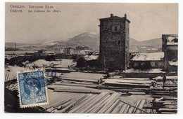 1920 KRALJEVINA SHS, YUGOSLAVIA, BELGIUM, SERBIA, MACEDONIA, SKOPJE- USKUB TO ANTWERP, BEGS TOWER, - Yugoslavia