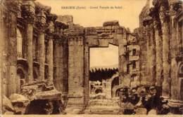 BAALBEK - Grand Temple Du Soleil - Syrie
