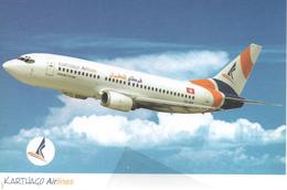 Karthago Airlines Tunisi B737.300 ISSUE - 1946-....: Era Moderna